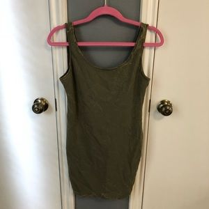 Forever 21 Army Green Bodycon Dress